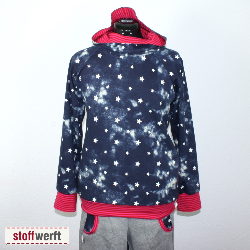 Sweatshirt Stars used look
