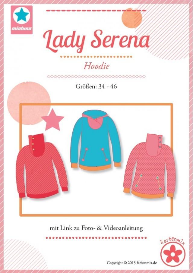 Schnittmuster Lady Serena von mialuna/farbenmix